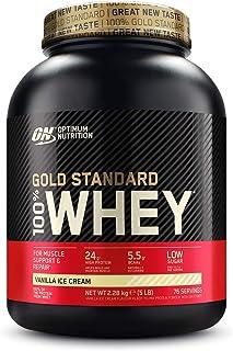 comprar comparacion Optimum Nutrition ON Gold Standard 100% Whey Proteína en Polvo Suplementos Deportivos, Glutamina y Aminoacidos, BCAA, Hela...