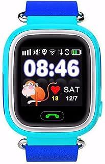 7fcba9406 Bodbii El Color de la Pantalla táctil del GPS Teléfono WiFi Posicionamiento  Reloj SOS Inteligente Reloj