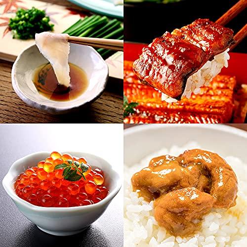ふぐ ウナギ いくら ウニ 河豚 鰻 雲丹 豪華食材 詰め合わせ 贅沢4種セット