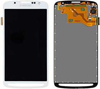 E-League(TM)Grade A+ Samsung Galaxy S4 Active LCD,White LCD Display Touch Digitizer Screen Assembly Replacement for Samsung Galaxy S4 Active i9295 i537 5.0 inch with Tool (A+ white)