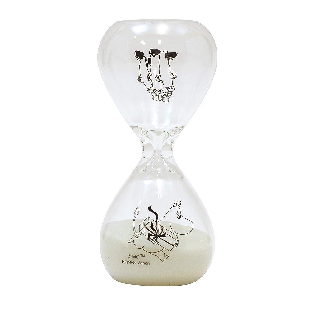 砲撃書士リングMOOMIN Hourglass 3minutes /ムーミン 砂時計 S【クリア】 MM071-