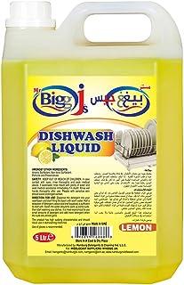 MR. BIGG J'S Dishwashing Liquid Lemon, 5 Litre