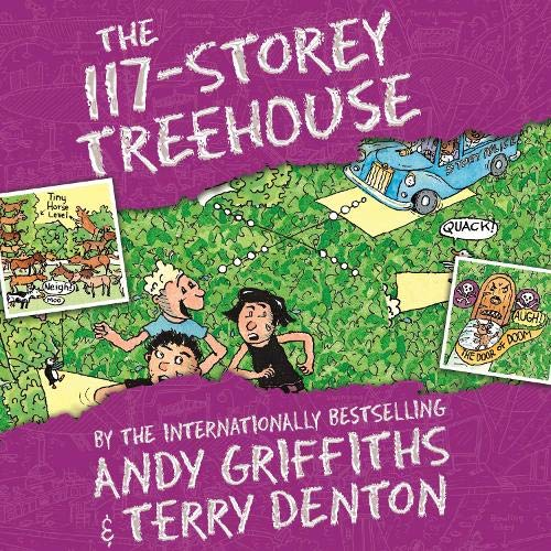 The 117-Storey Treehouse Audiobook By Andy Griffiths, Terry Denton cover art