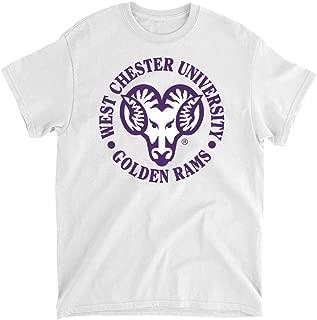 Official NCAA West Chester University Golden Rams - PPWCU05 Mens/Womens Boyfriend T-Shirt