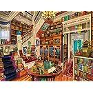 The Library Counted Cross Stitch Kits 450x330 Stitch,90x70 cm,DIY Embroidery Kits, Big Cross Stitch Kits