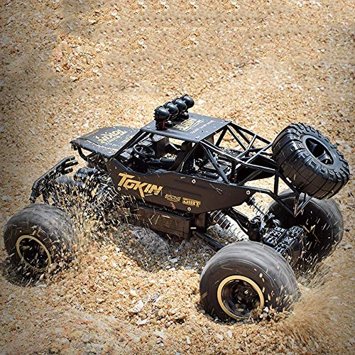 OUUED Toys RC Car snelle Vehicle Bigfoot voertuig Truck 2,4 GHz 4WD Remote Control Off Road Racing Monster Trucks Electric Race Desert Buggy 1/18 Beste Cadeaus for Kerstmis Kids
