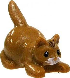 Lego Animal Mini-figure: Brown Kitten / Cat by