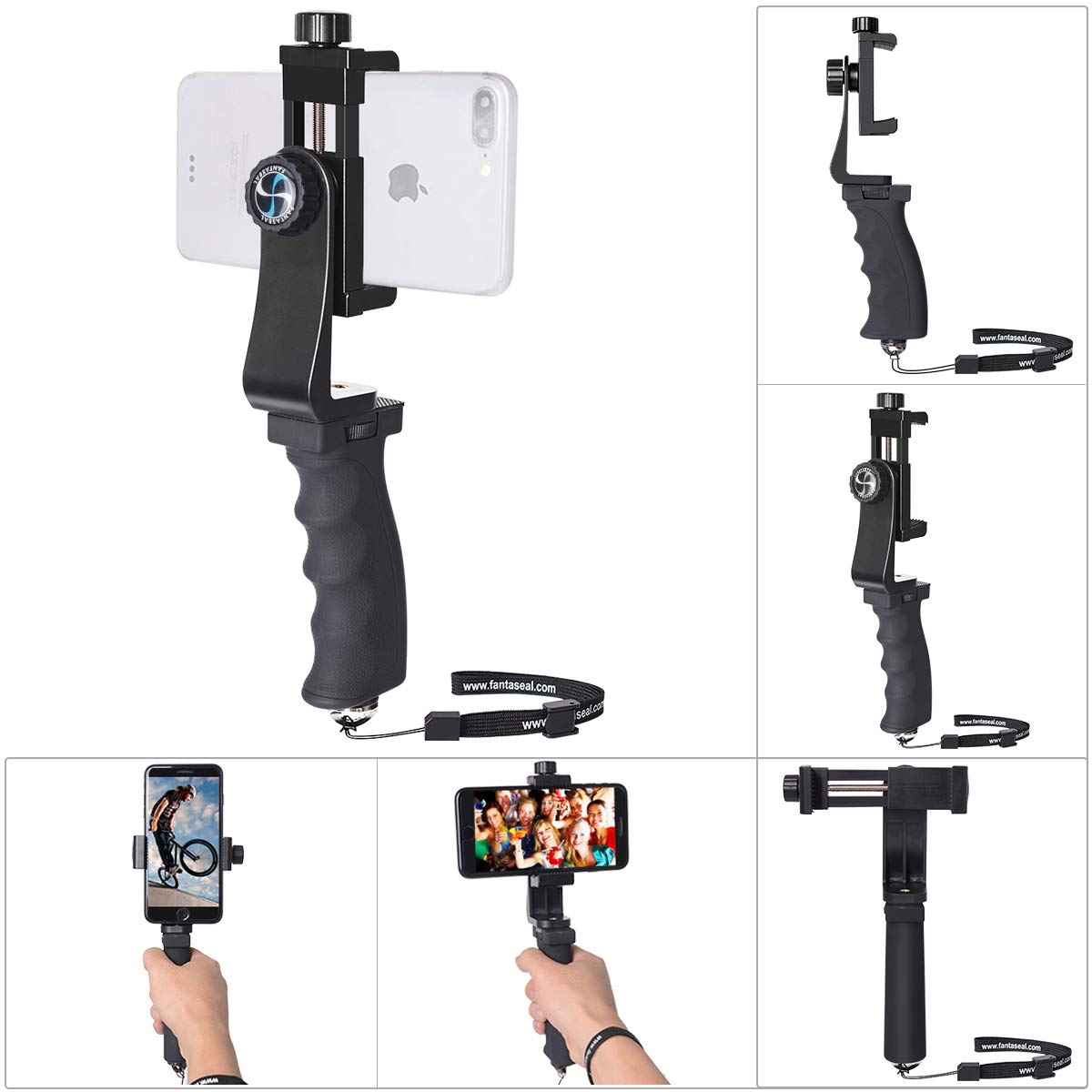 Ergonomics Smartphone Stabilizer Compatible 60mm 100mm
