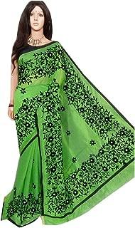 phulkari work saree