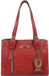 Hidesign Spring/Summer 20 Women's Shoulder Bag (Red)