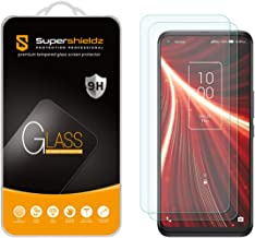 (2 Pack) Supershieldz Designed for TCL 10 5G UW Tempered Glass Screen Protector, Anti Scratch, Bubble Free
