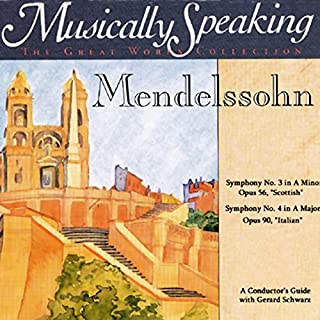 Conductor's Guide to Mendelssohn's Symphony No. 3 & No. 4 audiobook cover art