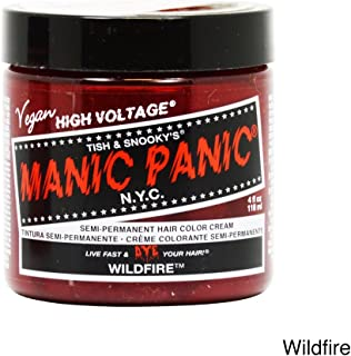 Manic Panic Wildfire Red Hair Dye Color