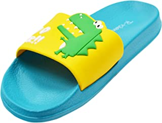 R-ISLAND Scarpe da Spiaggia e Piscina Bambini Pantofole da Bagno Ragazzi e Ragazze Pantofole da Interno da Esterno Sandali...