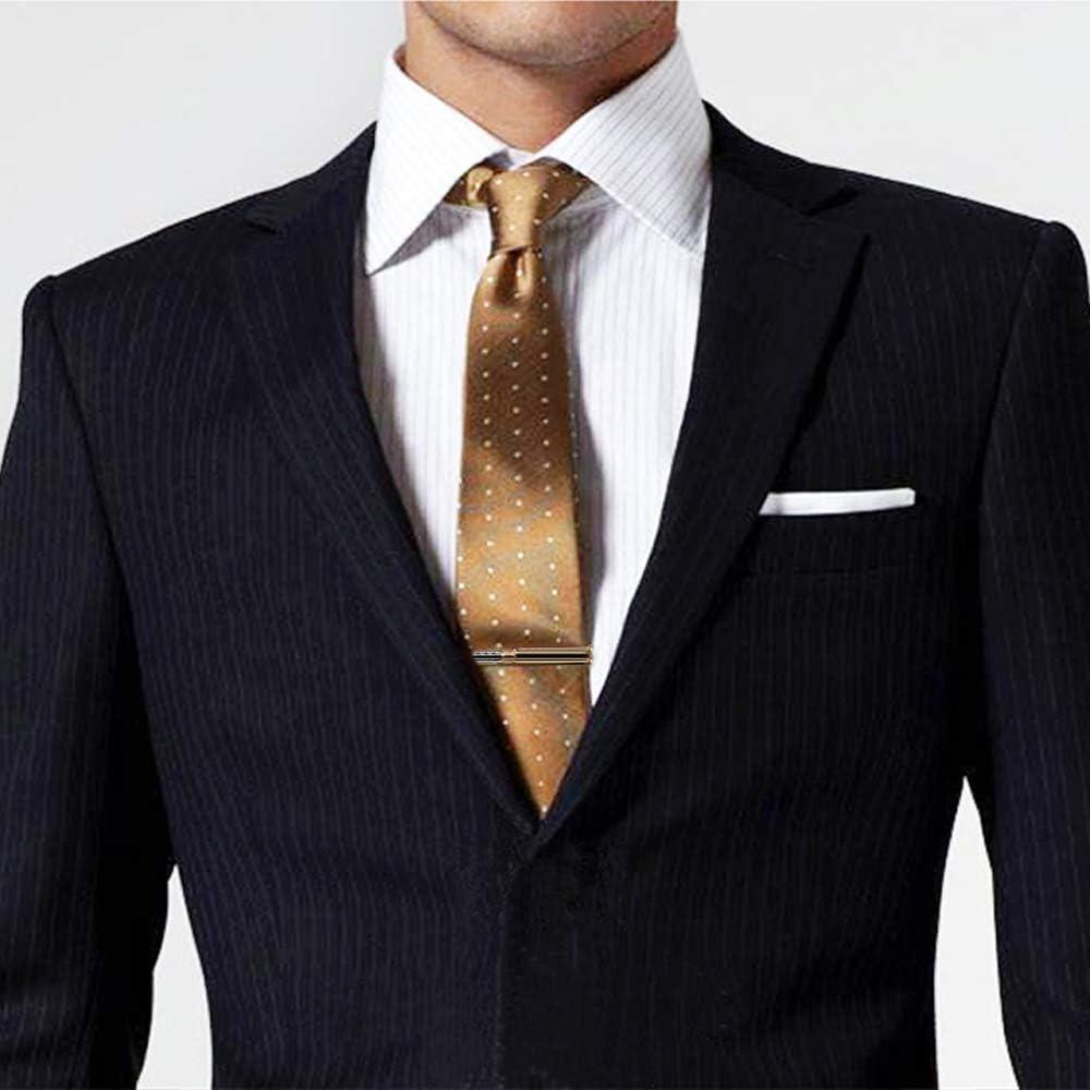 BXLE Cool Bullets Cufflinks Tie Clip - Gun Shot Necktie Bar Shirt Studs Stickpin Cuff Links Button - Men's Premium Shooting Suit Accessories in Gift Box for Hunter Soldier Cop(Tie Clip + Cufflinks)