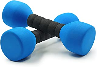 Aoneky Foam Covered Weights for Kids, Recommended for Boys Aged 3 to 6 Years Old, Children Safe Exercise Dumbbell Toy, 2 lbs
