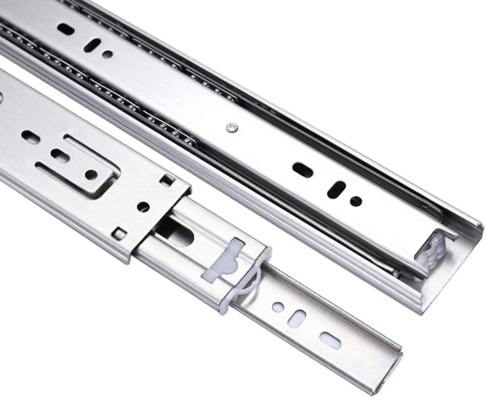 JYING 8 outlet 10 12 14 16 18 Drawer Steel Slide 20 Ra Wholesale Stainless 22inch