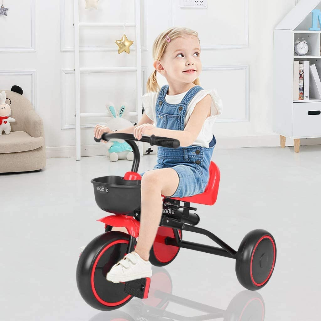 Huokan Children's Tricycle Bicycle Baby Stroller price Trust Toy f Fit Car