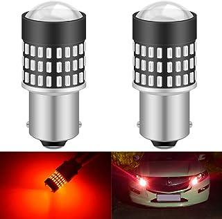 KATUR 1156 BA15S 7506 1073 1095 1141 LED-glödlampa 900 lumen 3014 78SMD lins LED-lampor för broms blinkers svans backup om...