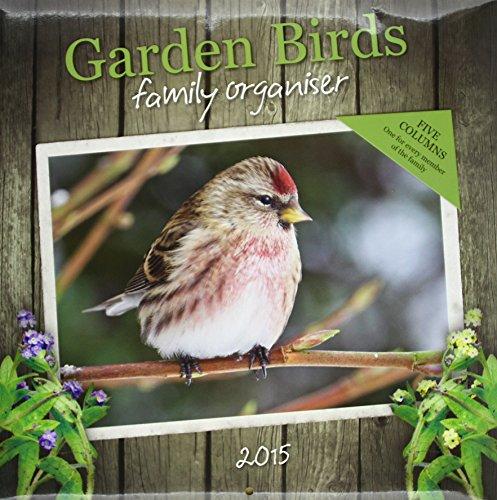 Garden Birds Wall: 12x12 Planner (Square Planner)