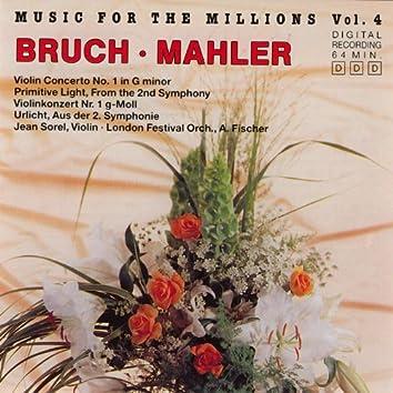 Music For The Millions Vol. 4 - Bruch / Mahler