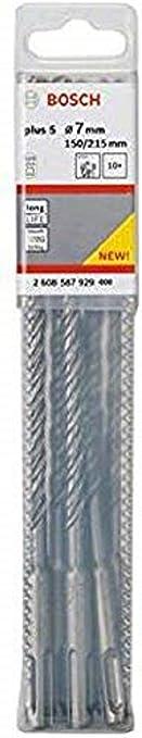 Bosch Professional 2 608 596 146 Bosch 146-Brocas para martillos perforadores SDS-plus-5-5,5 x 100 x 165 mm Acero inoxidable Pack de 1