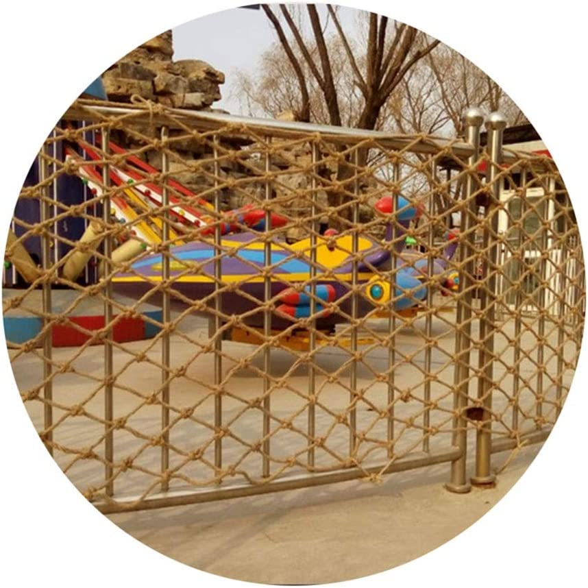 LJIANW Fishing Net National products Decor Child Heavy Weave Safety Tulsa Mall Hemp Duty
