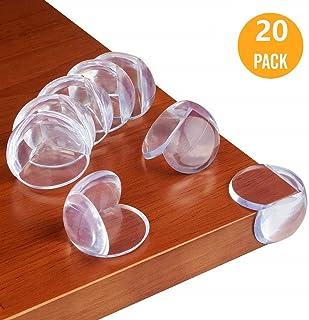 protectores silicona blanda esquina mesa esquineras cojines Homy Proteccion Esquinas Protectores de Esquinas para Bebes y Ni/ños 8PACK