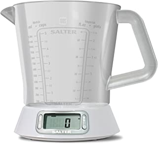 Salter Digital Smart Jug Electronic Measuring Jug Scale - Salter