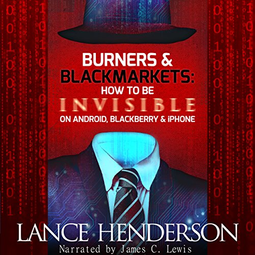 Burners & Black Markets audiobook cover art
