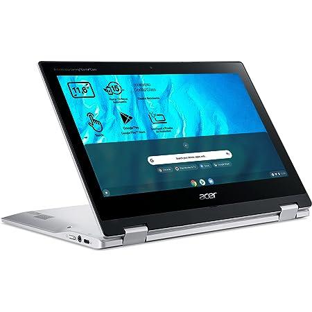 "Acer Chromebook Spin 311 CP311-3H - Ordenador Portátil 2 en 1 Convertible y Táctil 11.6"" HD IPS (MTK MT8183, 4GB RAM, 32GB eMMc, Mali-G72 MP3 Graphics, Chrome OS), PC Portátil Plata - QWERTY"