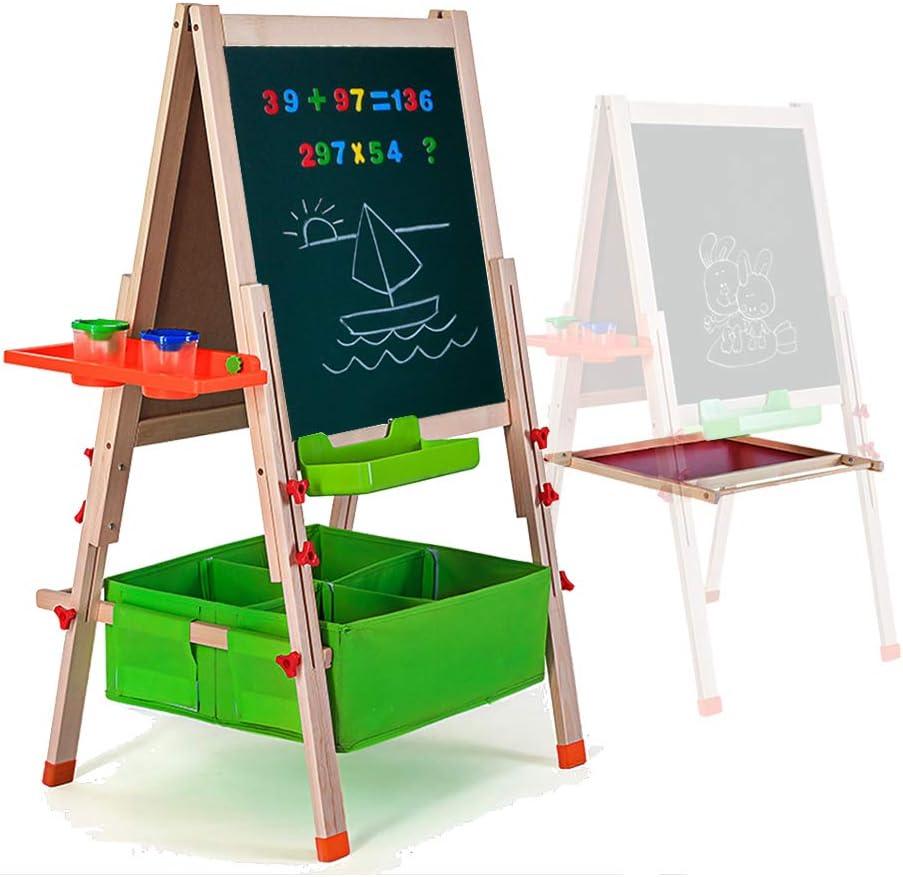 Children/'s Chalk Board//white Board Large Easel Folding Eraseboard Blackboard