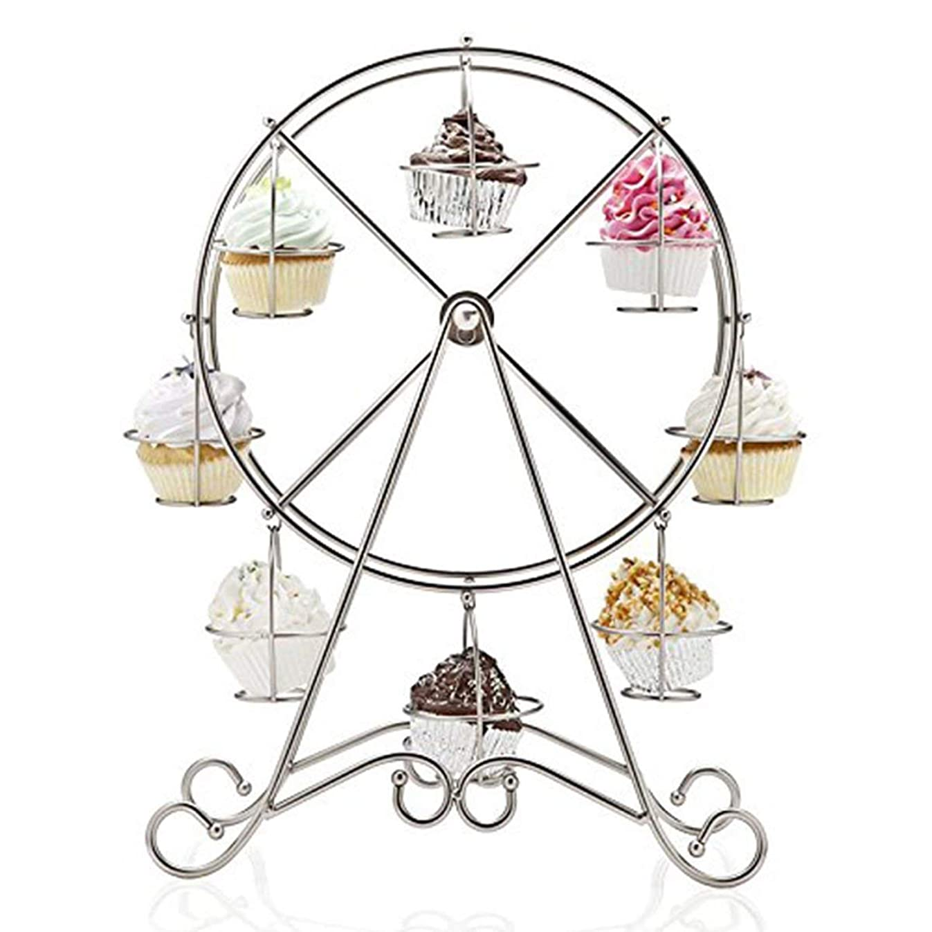 Charmed Ferris Wheel Cupcake Stand for Carnival and Circus Theme Party