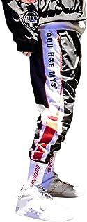 Pantalóns de Jogging Deportivos Casuales para Hombre, Chándal Moda Callejera Urbana para Adolescentes y Niños Pequeños, Pantalone Aptitud con Rayas Laterales de Moda - Diseño Original