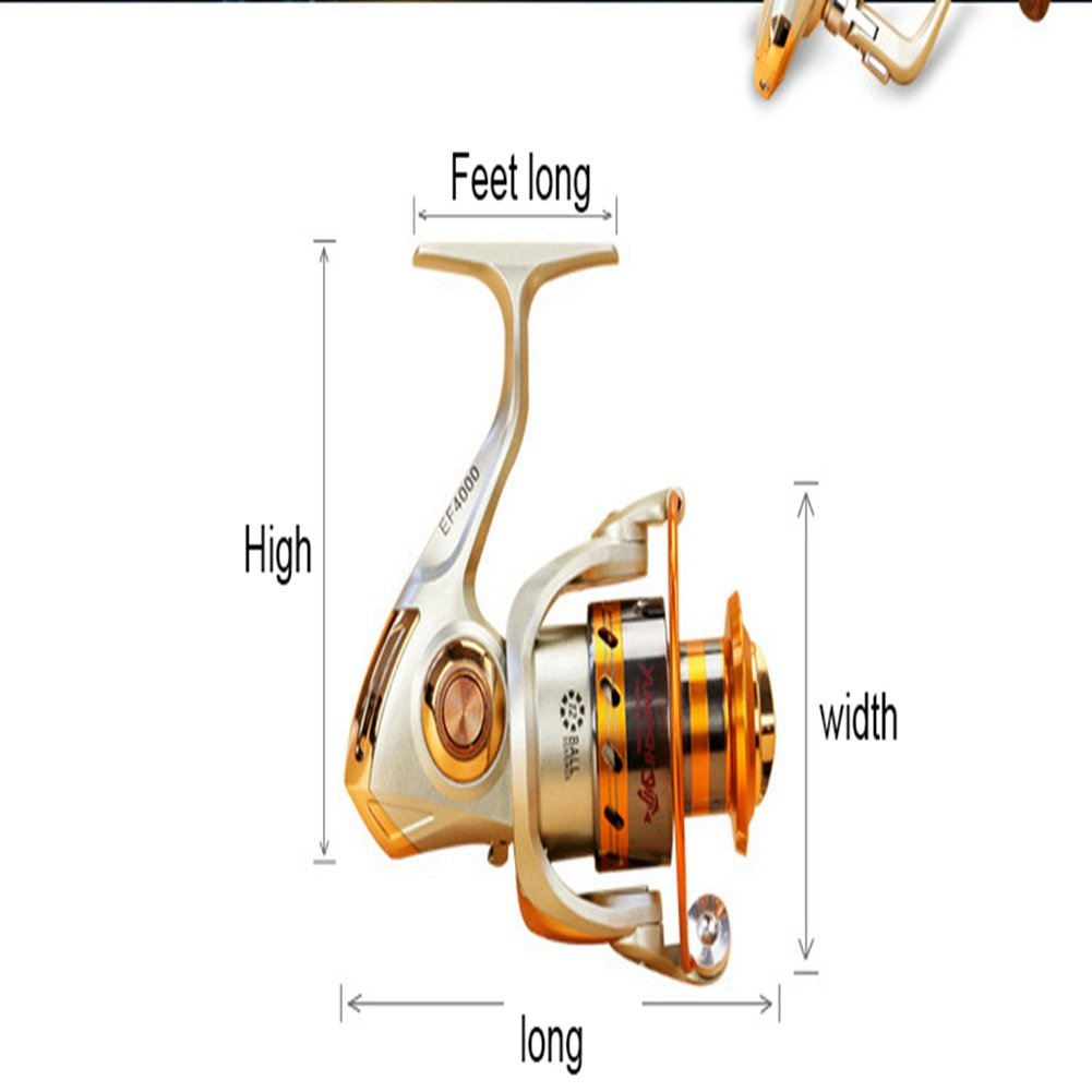 FYX Fishing Reels Saltwater-Carbon Fiber Arrastrar hasta 26.45 LB ...