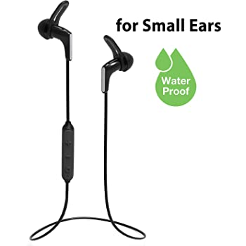 Amazon Com Avantree Hs134 Mini Bluetooth 5 0 Earbuds For Small Ears Canals With Mic For Calls Pc Cellphones Super Light Ipx7 Waterproof Sport Wireless Earphones Up To 13h Playtime For Home Workout Gym