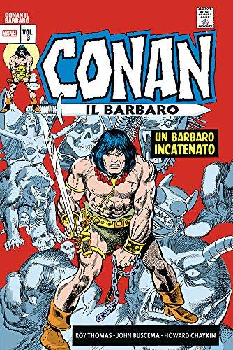 Marvel Omnibus - Conan Il Barbaro: L'Era Marvel N° 3 - Panini Comics - ITALIANO #MYCOMICS