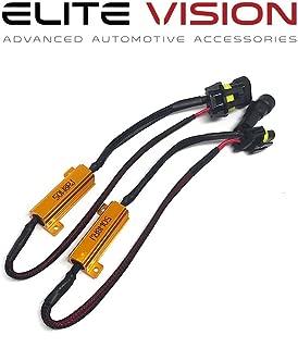 Elite Vision Advanced Automotive Accessories - HID/LED Resistors 9006 (9005, H10, 9045, 9145, 9012)