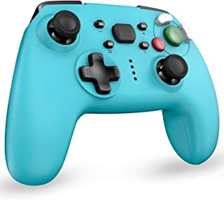 REDSTORM Mandos Bluetooth para Nintendo Switch, Gamepad para Switch con Función Gyro Axis/Dual Shock y Turbo Compatible