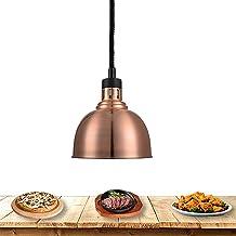 Lampe Chauffante 250W, Télescopique Lampe Infrarouge Lampe Cuisine Lustre pour Buffet Chauffant, Commercial Lampe de Chauf...