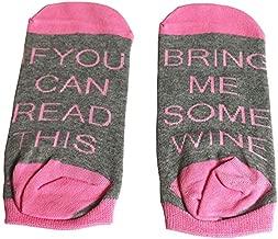 SurBepo Women Watching Christmas Movies Socks, If You Can Read This Socks