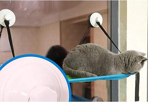 vendiendo bien en todo el mundo LYJKJGS Sunny Seat Window Cat Cat Cat Perch Cats Cat Cama Hamaca De Doble Capa con Ventosas De Alta Resistencia Soporta hasta 20 Kg,Singlelayer  ordenar ahora