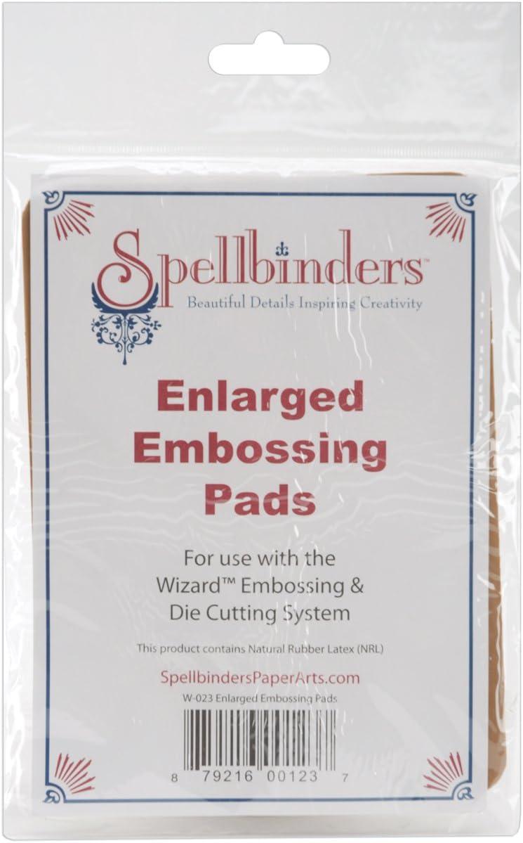 Spellbinders Bluk Buy New Free Shipping Embossing Super Special SALE held Pads 2-Pack Pack 2 W023