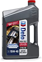 Delo 257004470 400 XLE SAE Synblend Synthetic Blend Oil 15W40, 1 Gallon, 1. gallons