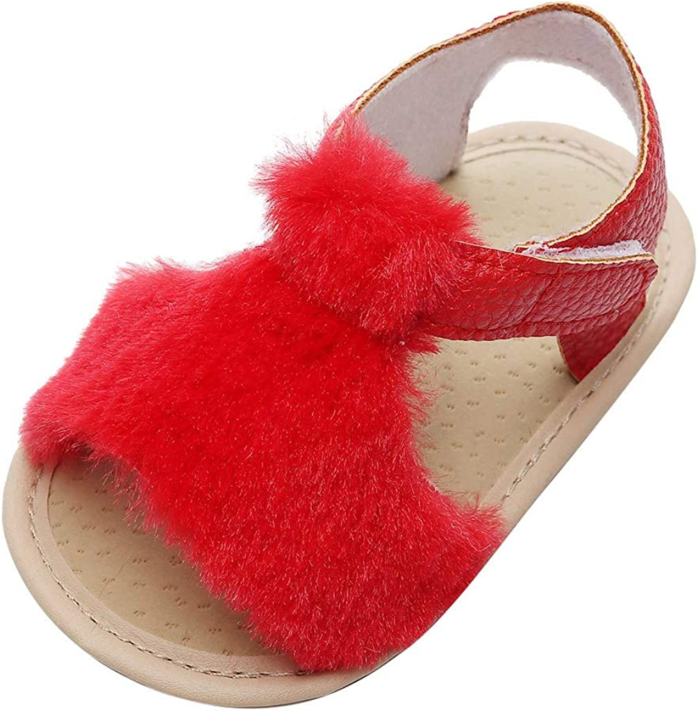 Rishine Oklahoma City Mall Crib Shoes Toddler Kids store Baby Solid Flock Boys Girls Cute