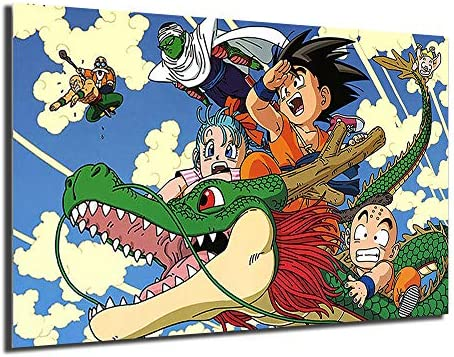Dragon Ball Z Poster Goku Japanese Anime Painting And Prints Decorative Wall Art Pictures For product image