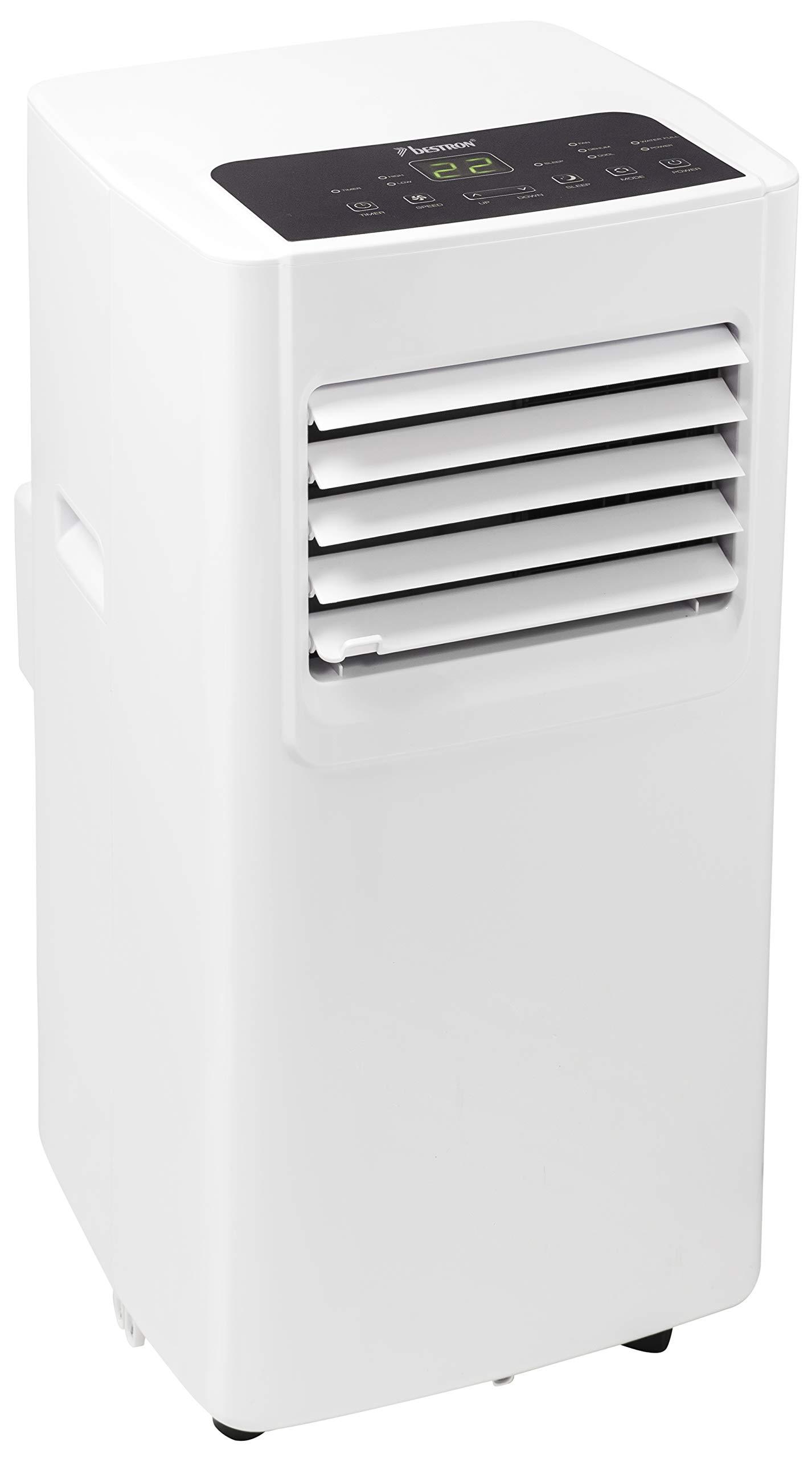 Bestron AAC7000 - Aire acondicionado portátil (potencia de refrigeración de 7000 BTU / 2,1 kW, para habitaciones de hasta 60 m3), color blanco: Amazon.es: Grandes electrodomésticos