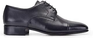 276-045 PIY-Vidala Siyah 101 Nevzat Onay Bağcıklı Siyah%100 Deri Kösele Erkek Ayakkabı