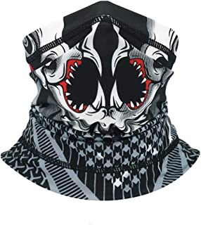 Sun UV Protection Neck Gaiter Face Scarf Mask-Dust, Cool Lightweight Windproof, Breathable Running Cycling for Men and Women