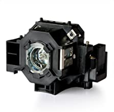 JTL ELPLP41 Lamp with Housing for Epson PowerLite S5 / S6 / 77C / 78, EMP-S5, EMP-X5, H283A, HC700, H284B, EMP-X52, EMP-S52, EH-TW420 Projectors